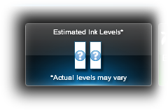 Refill carts_estimated ink levels